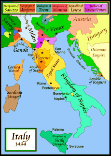 the rise of the catholic power in italy during the renaissance Despite gregory's successful pontificate, the papacy's situation remained uncertain as byzantine power in italy receded and the lombards continued to endanger.